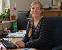 TBK Solingen Sekretariat, Frau Garcia