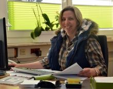 TBK Solingen Sekretariat, Frau Wollenweber