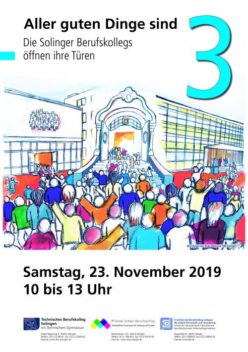 Am 23. November ist es wieder soweit: Das TBK öffnet seine Pforten für Interessierte.
