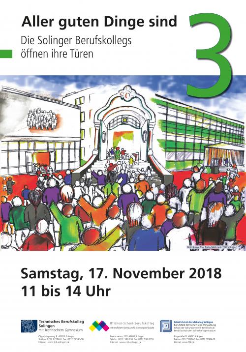 Am 17. November ist es wieder soweit: Das TBK öffnet seine Pforten für Interessierte.