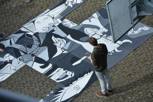 Pablo Picasso am Technischen Berufskolleg