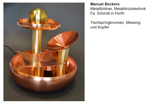 Technisches Berufskolleg Solingen -  Gesellenprüfung Graveur/Metallbildner