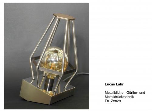 Lucas Lahr, Metallbildner-Gürtler- und Metalldrücktechnik