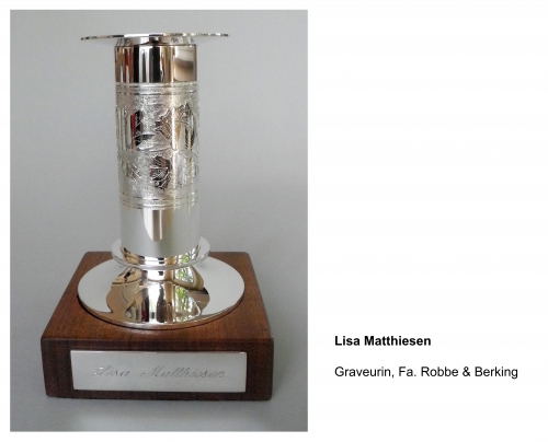 Lisa Matthiesen, Graveurin Technisches Berufskolleg Solingen