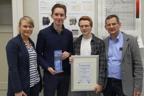 Metallographen am TBK Solingen Preisträger MikPräp