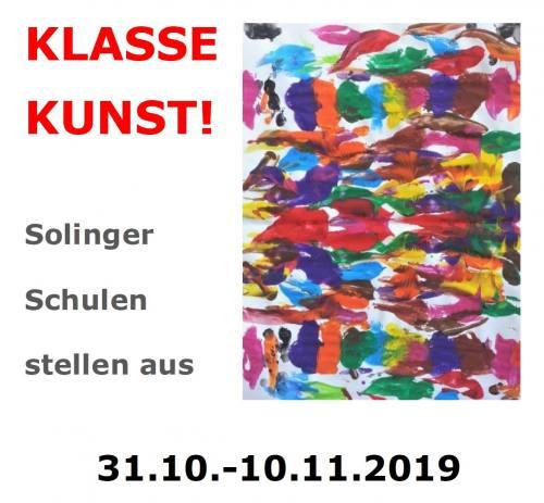 Die Arbeiten unserer GTAs werden derzeit im Solinger Kunstmuseum ausgestellt. EIn Besuch lohnt sich!!!