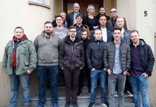 """Elf """"Jung""""Gesellen des Metallbauerhandwerks nahmen am 26. Januar ihren Gesellenbrief in Empfang!"""