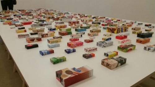 Installation der japanischen Künstler Nana Hirose und Kazuma Nagatani