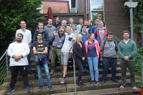 Technisches Gymnasium Solingen Klassenfahrt 1