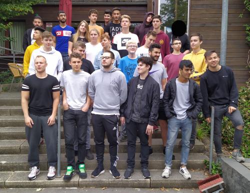Technisches Gymnasium Solingen Klassenfoto