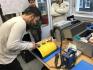 elektrolytisches Polieren an einem Bauteil