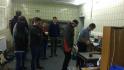Funken-Spektralanalyse an einer Probe