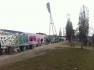 Ein Teilstück der Berliner Mauer.