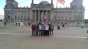 Die Metallographen des Technischen Berufskollgs Solingen besuchen das Regierungsviertel in Berlin