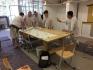 In dem Seminar wurden einige Tipps und Kniffe bei der Tapetenverarbeitung vermittelt.