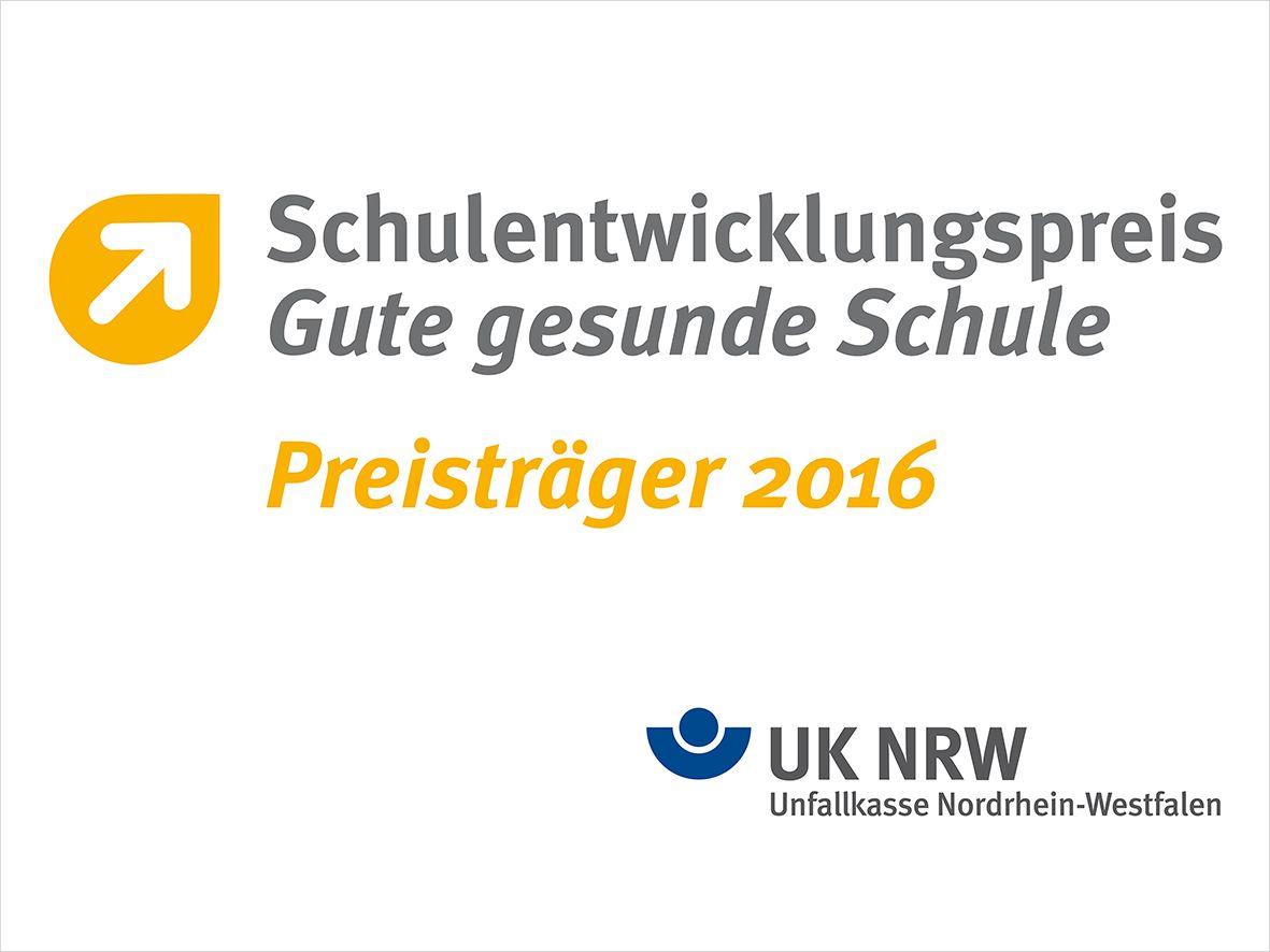 Das TBK Solingen hat den Schulentwicklungspreis 2016 gewonnen